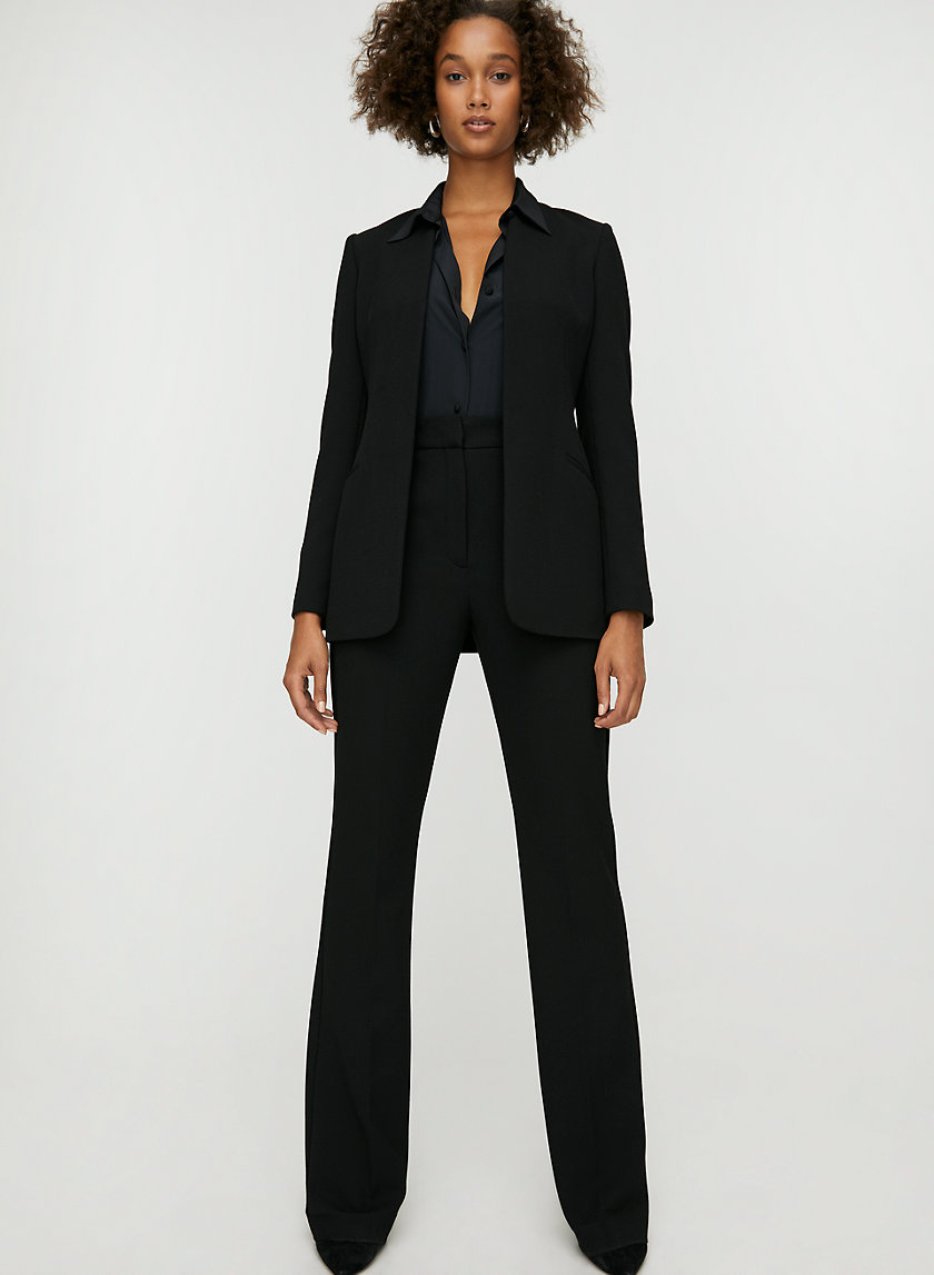JACKSON BLAZER - Tailored collarless blazer