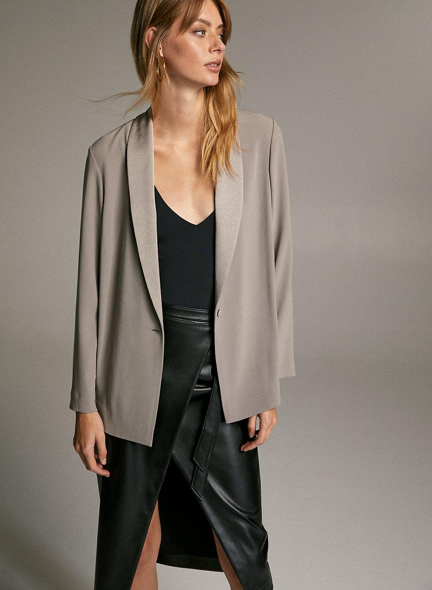 SETH BLAZER - Relaxed tuxedo jacket