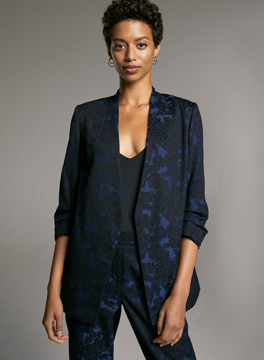 POWER BLAZER - Floral blazer