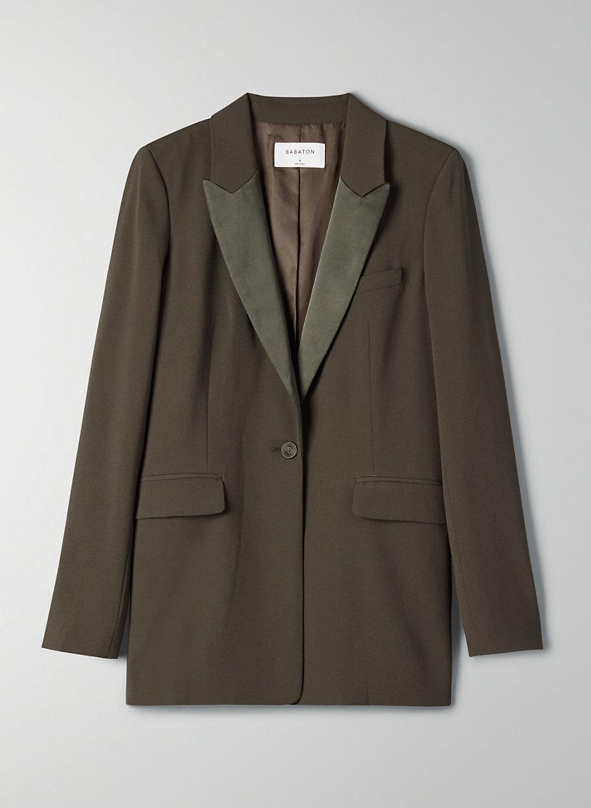 YATES BLAZER - Relaxed tuxedo jacket