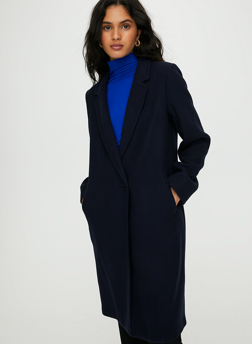 STEDMAN WOOL COAT - Mid-length, wool coat