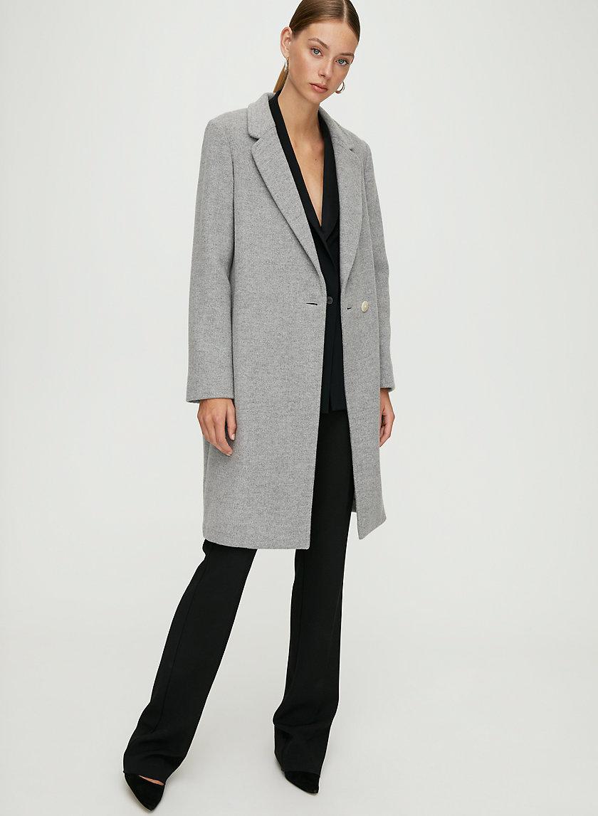 STEDMAN WOOL COAT - Mid-length, wool coat