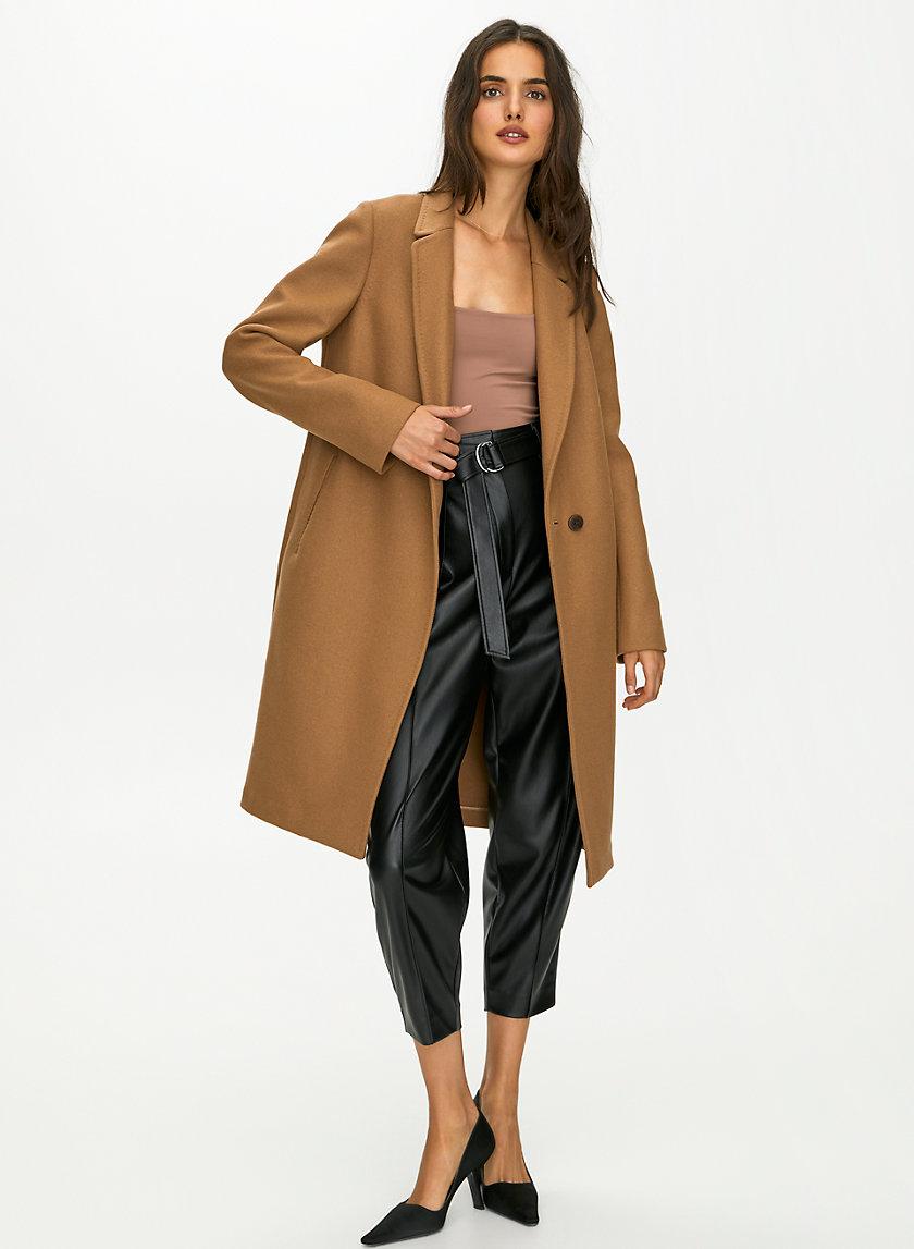 STEDMAN WOOL COAT - Classic wool-cashmere coat