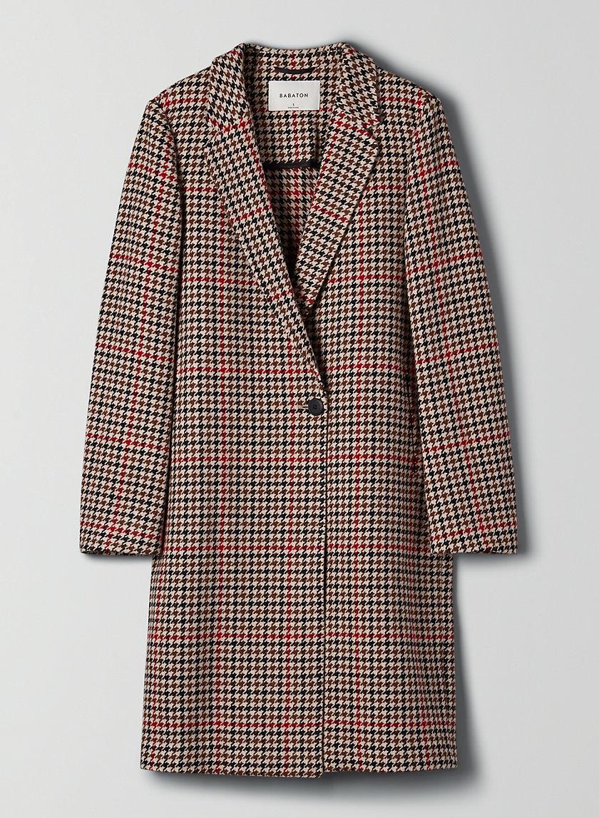 STEDMAN COAT - Single-breasted minimalist wool coat