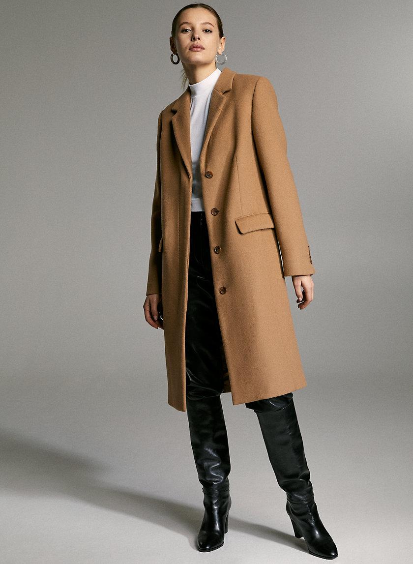 HARTFORD WOOL COAT - Double-faced classic wool coat