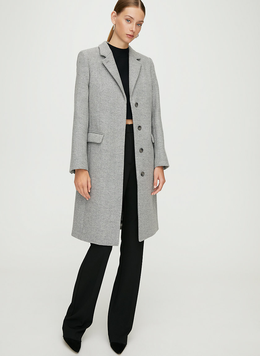 HARTFORD WOOL COAT - Double-faced classic wool coat