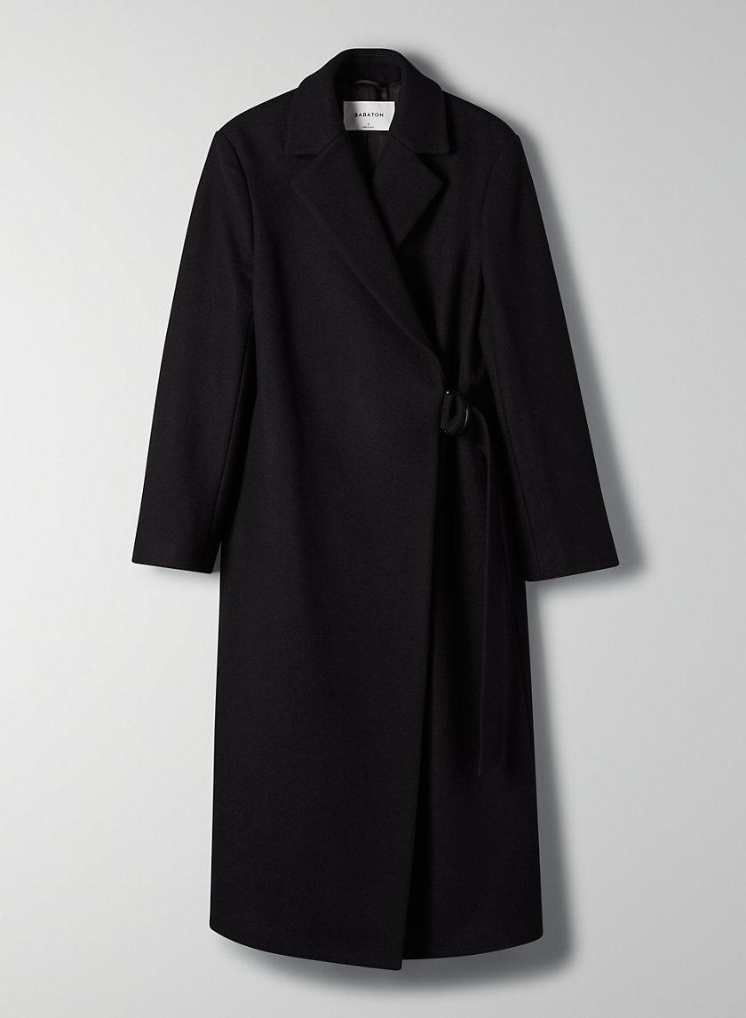 BLYTHE WOOL COAT - Statement wool coat