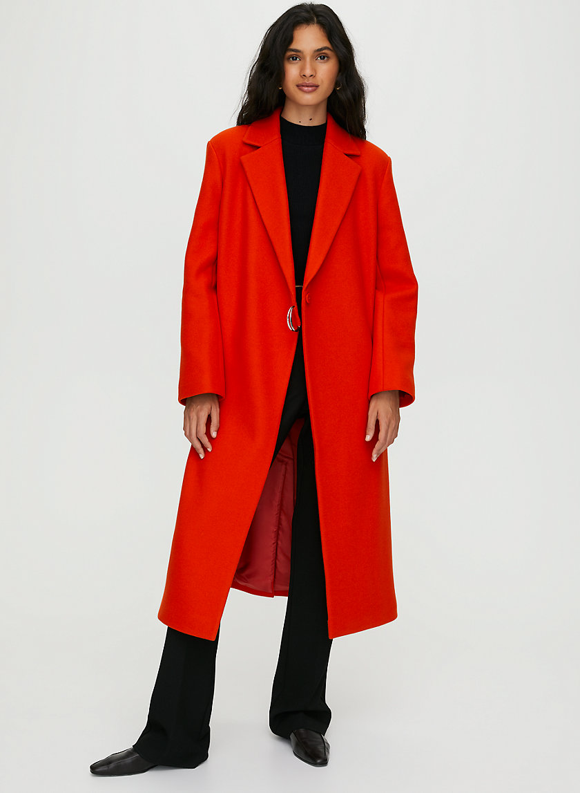 BLYTHE WOOL COAT - Statement wool coat