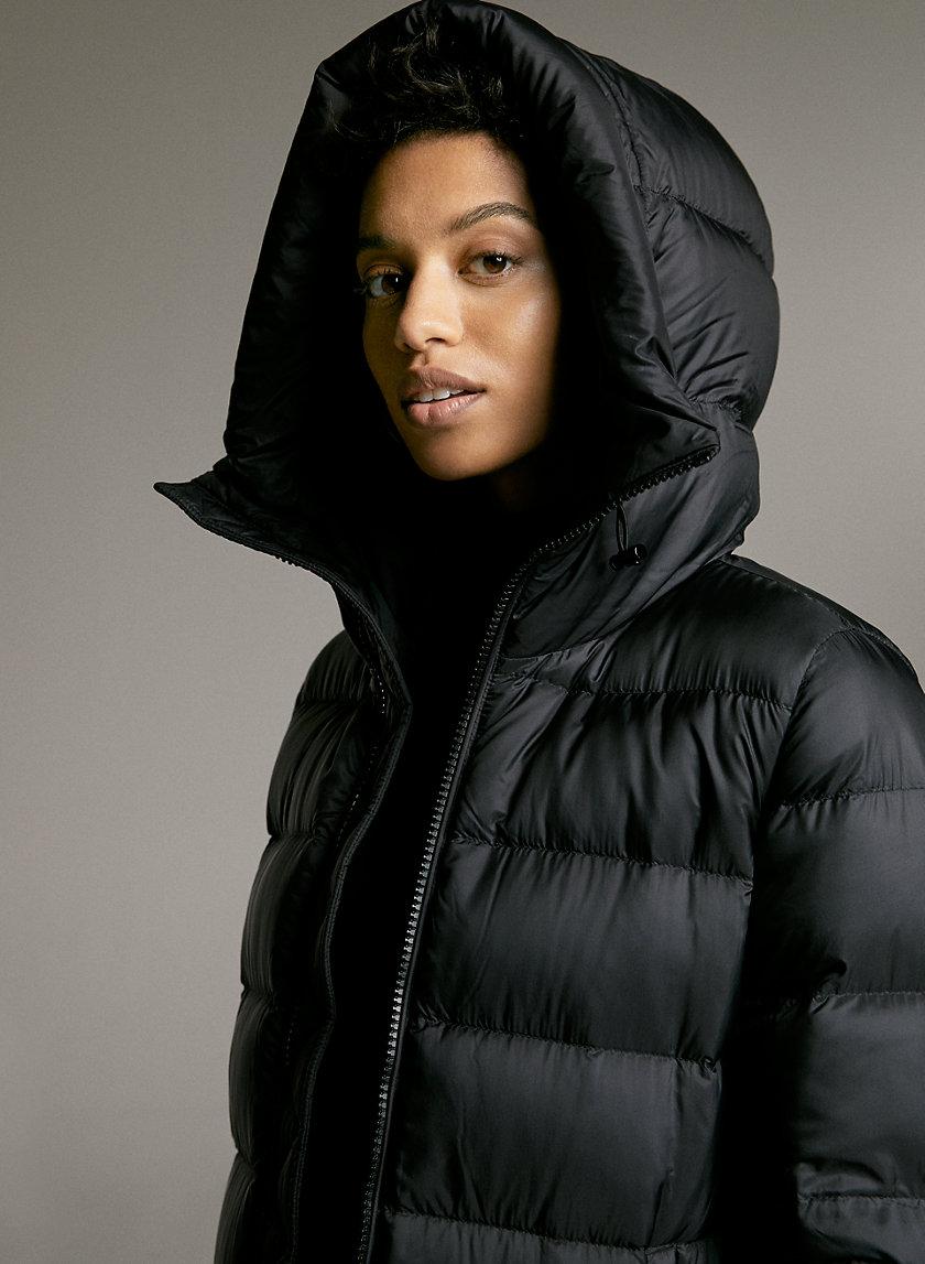 SNOWBIRD PUFFER - A-line, goose-down puffer jacket