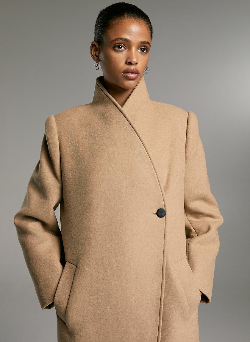 HASEK WOOL COAT - Wool cocoon coat