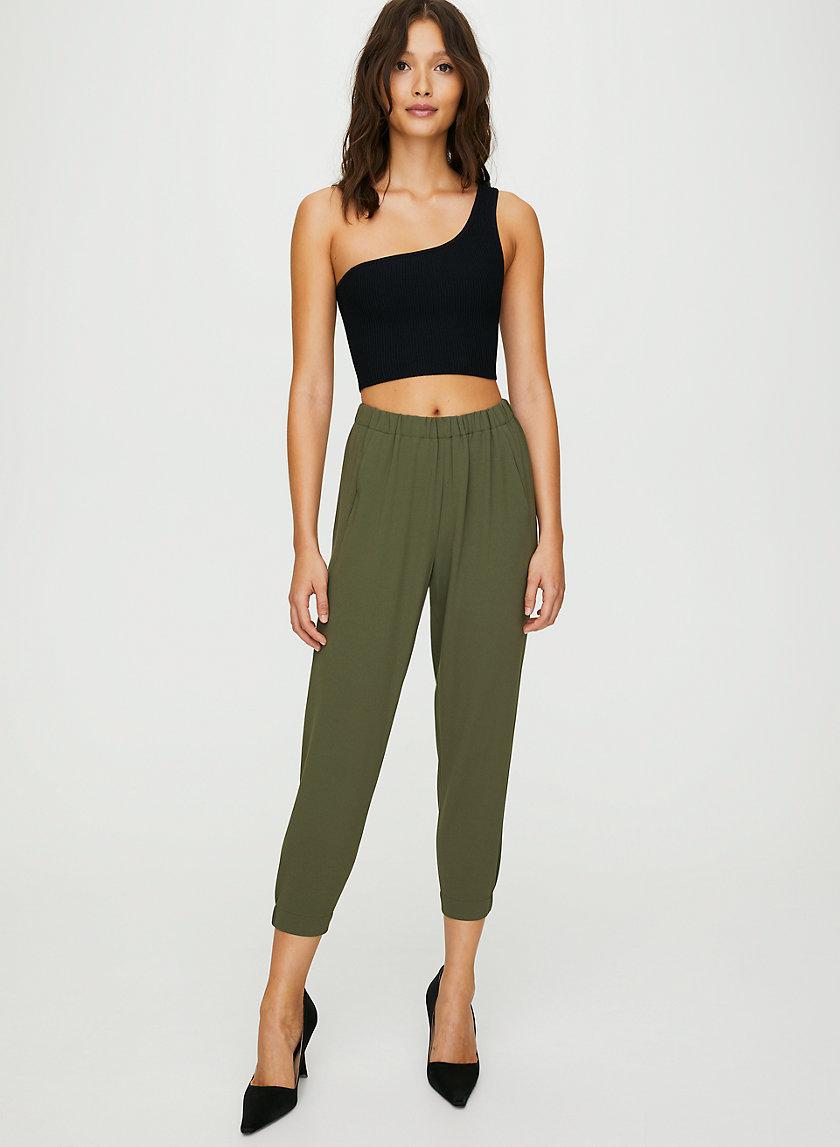DEXTER PANT - Cropped dress pants