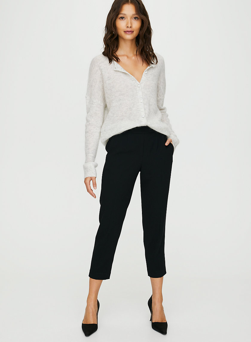 CONAN PANT - Cropped, slim-fit dress pant