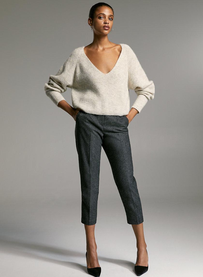 CONAN PANT - Wool trousers