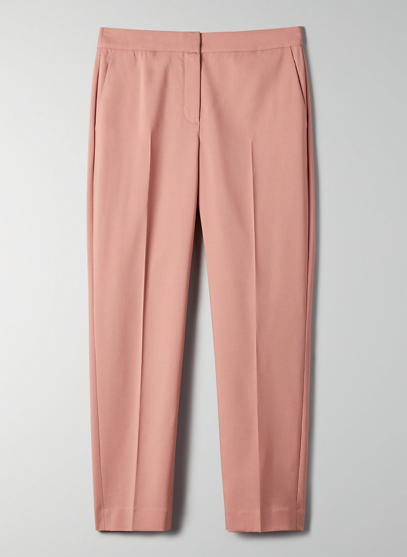 GABE PANT - Cropped, wool-blend trousers
