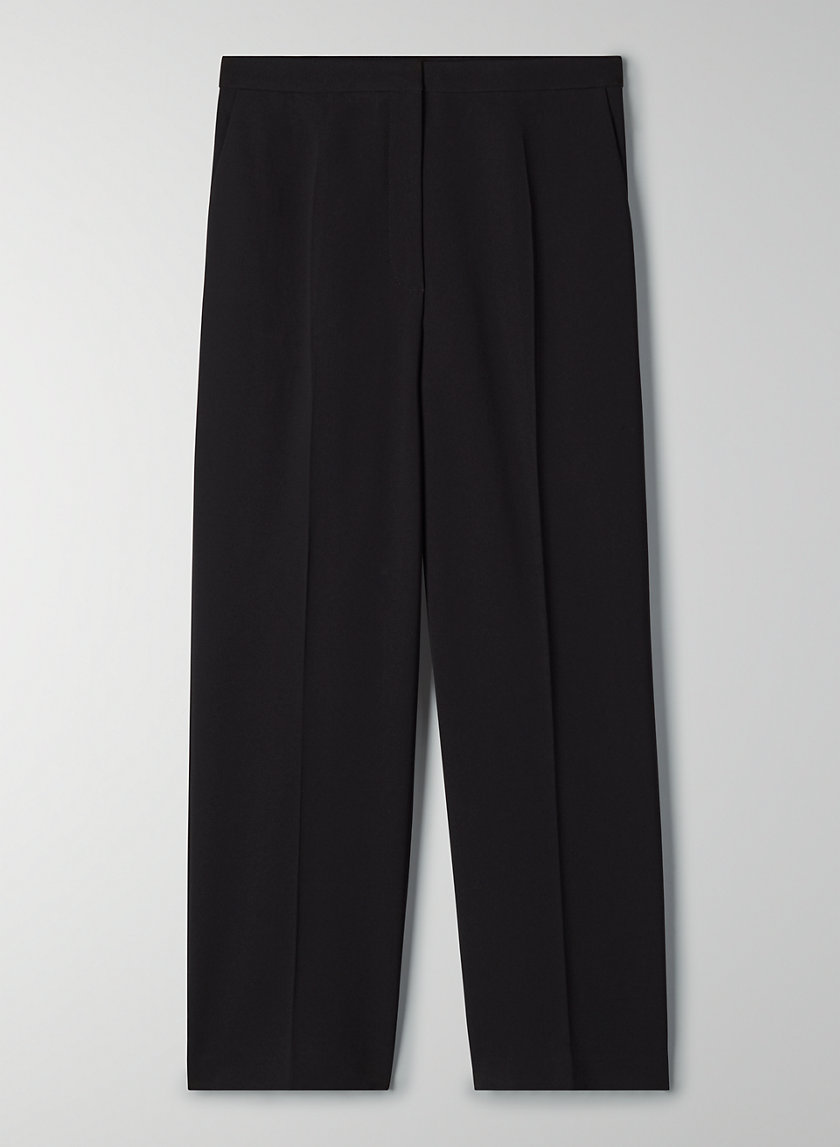 TOPHER PANT - Cropped high-rise trouser