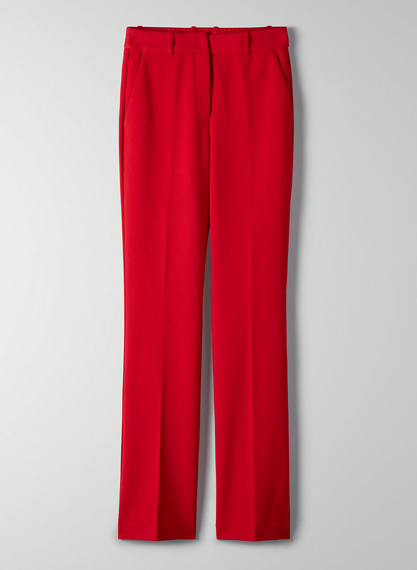 GRIFFIN PANT - High-waisted flare pants