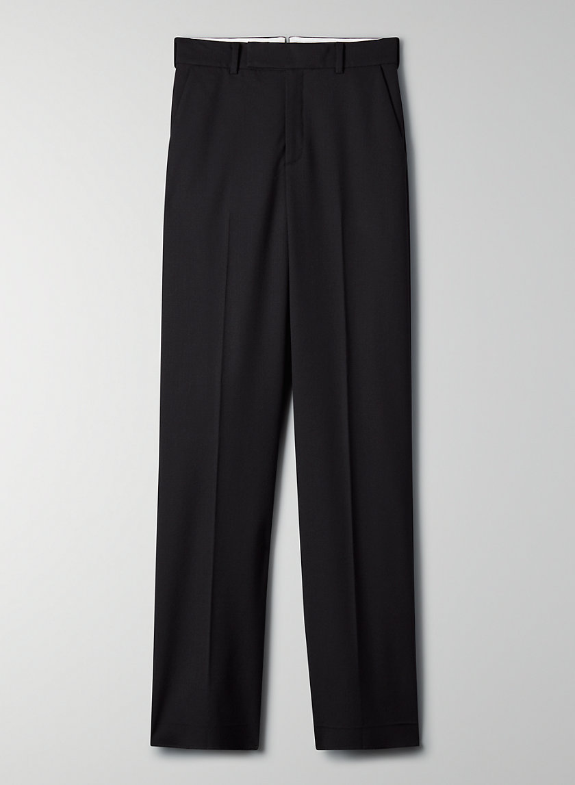 AGENCY PANT - High-rise cocoon trouser