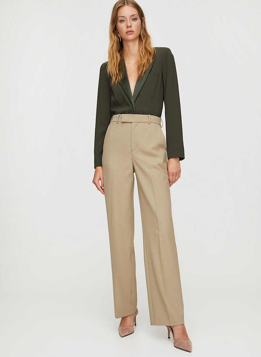 CONRAD PANT - High-rise cocoon trouser
