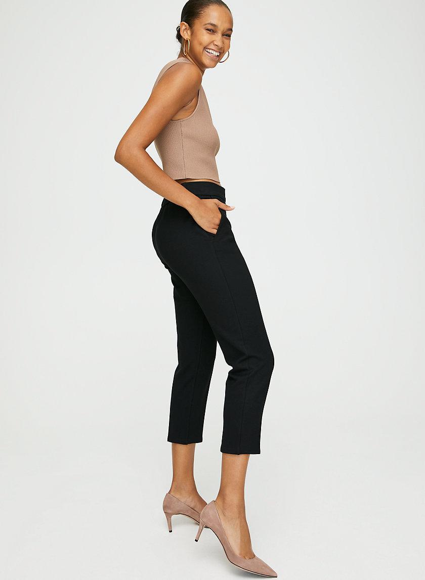 CONAN PONTE PANT - Stretchy trouser