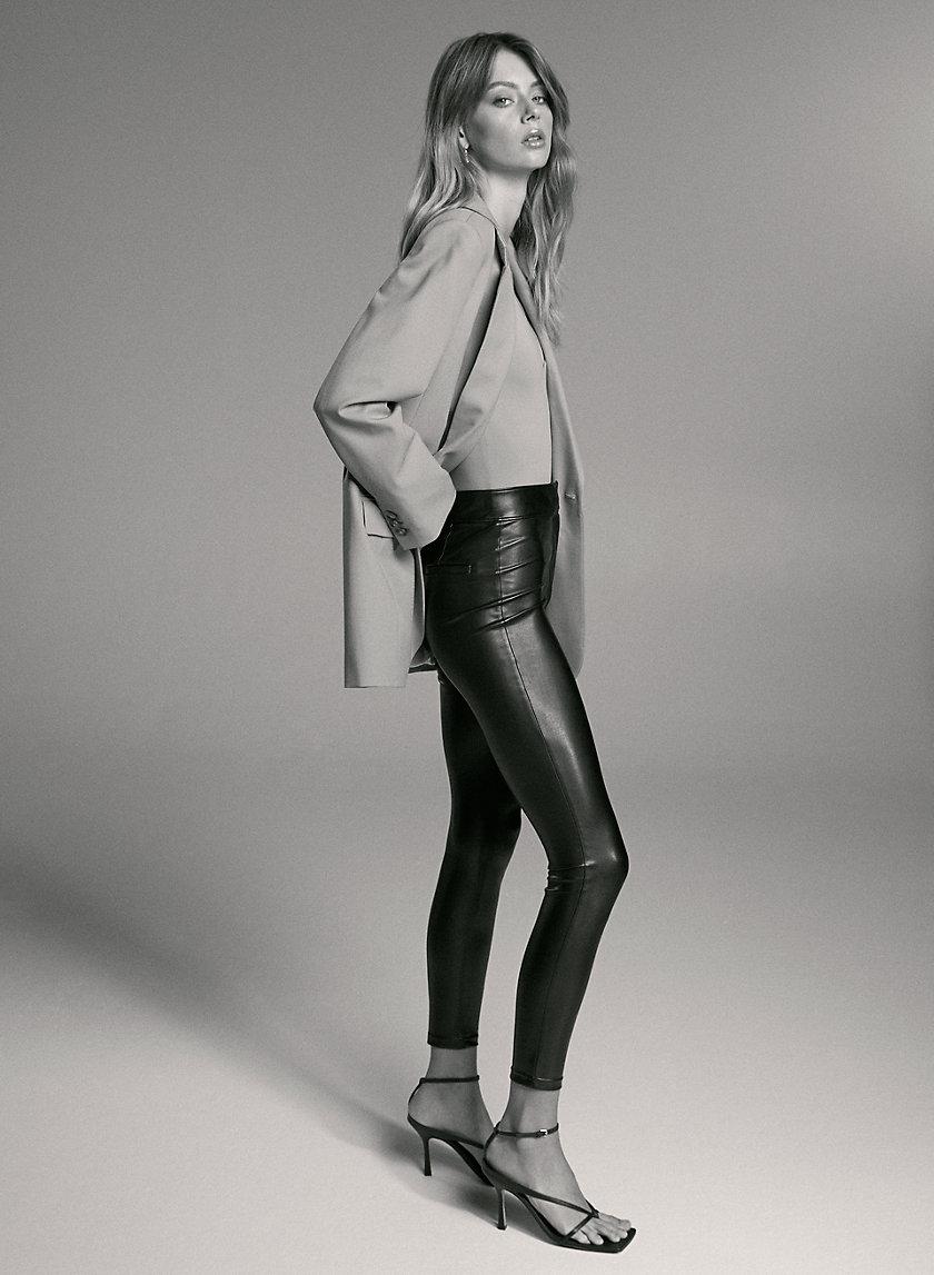 CASPIAN PANT - Vegan leather trousers