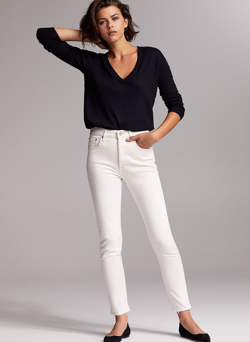 THE YOKO SLIM - High-waisted skinny jeans