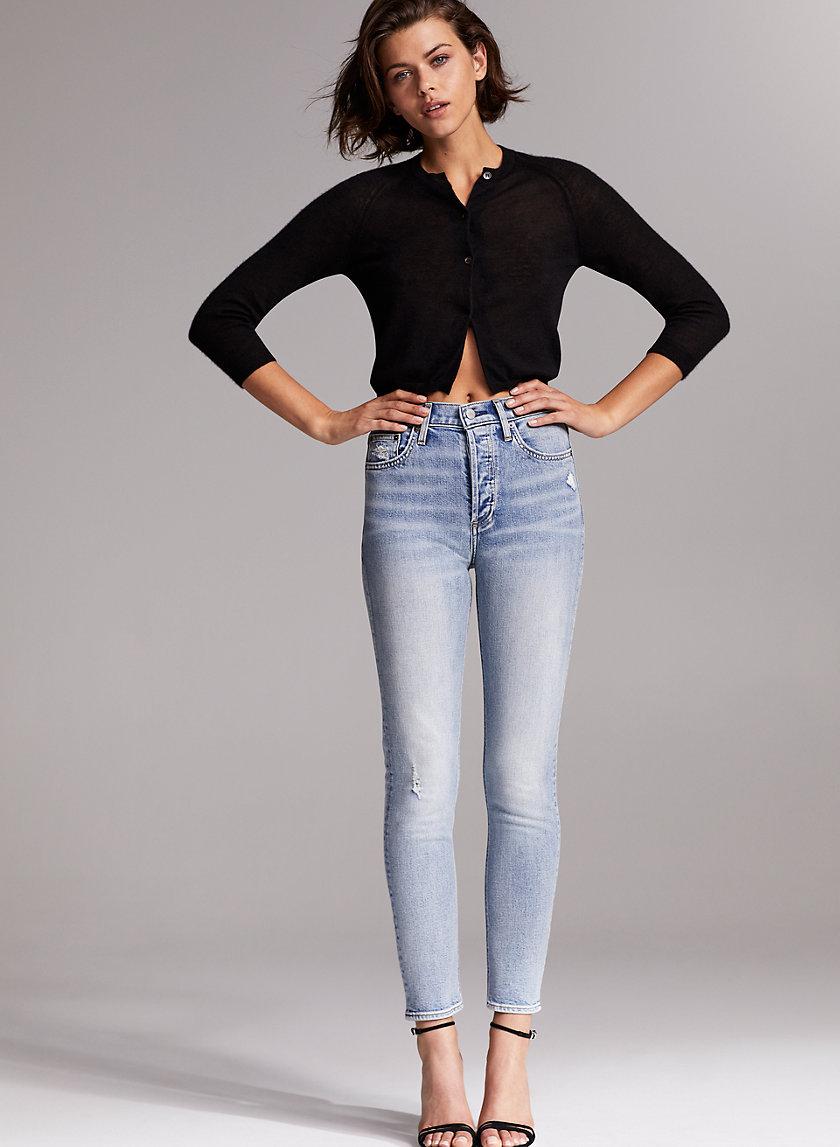 THE YOKO SLIM - High-waisted skinny jeans