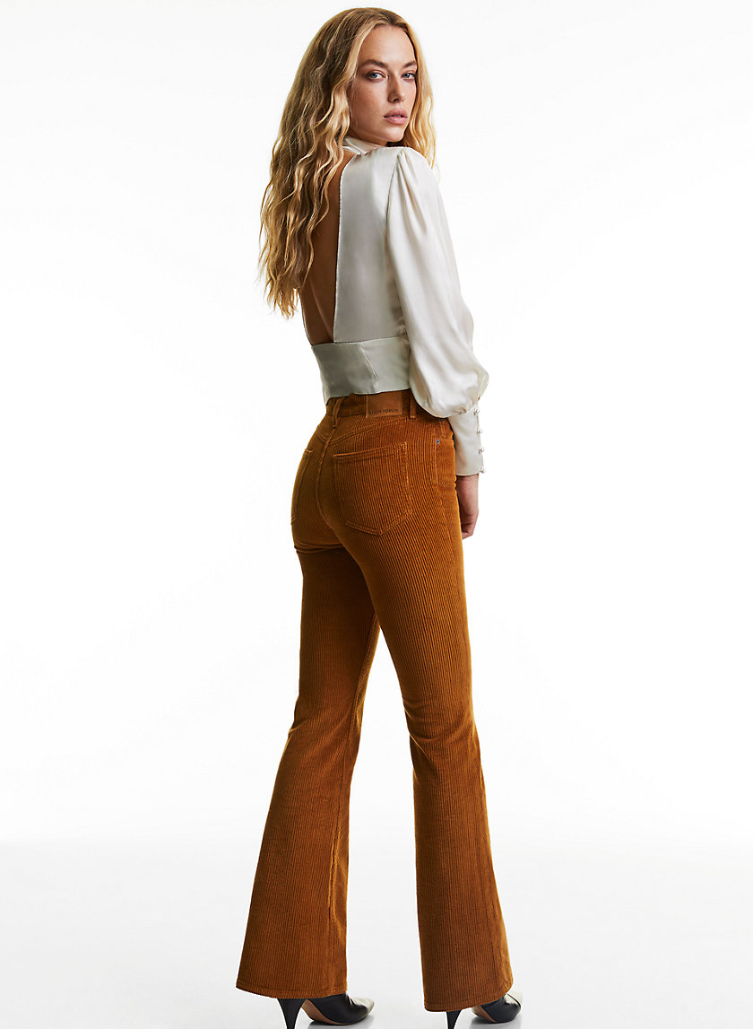 THE MARIANNE FLARE - Flared corduroy jeans