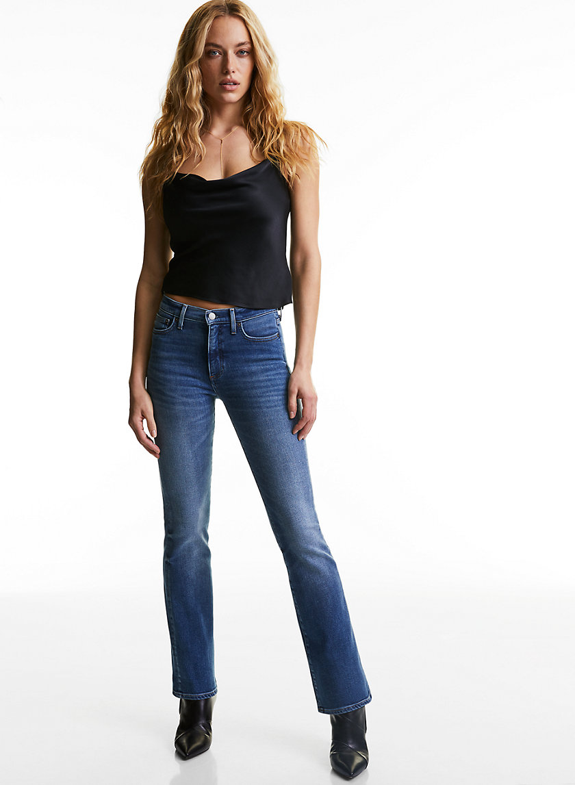THE JANE MID RISE BOOT - Flared boot-cut jean