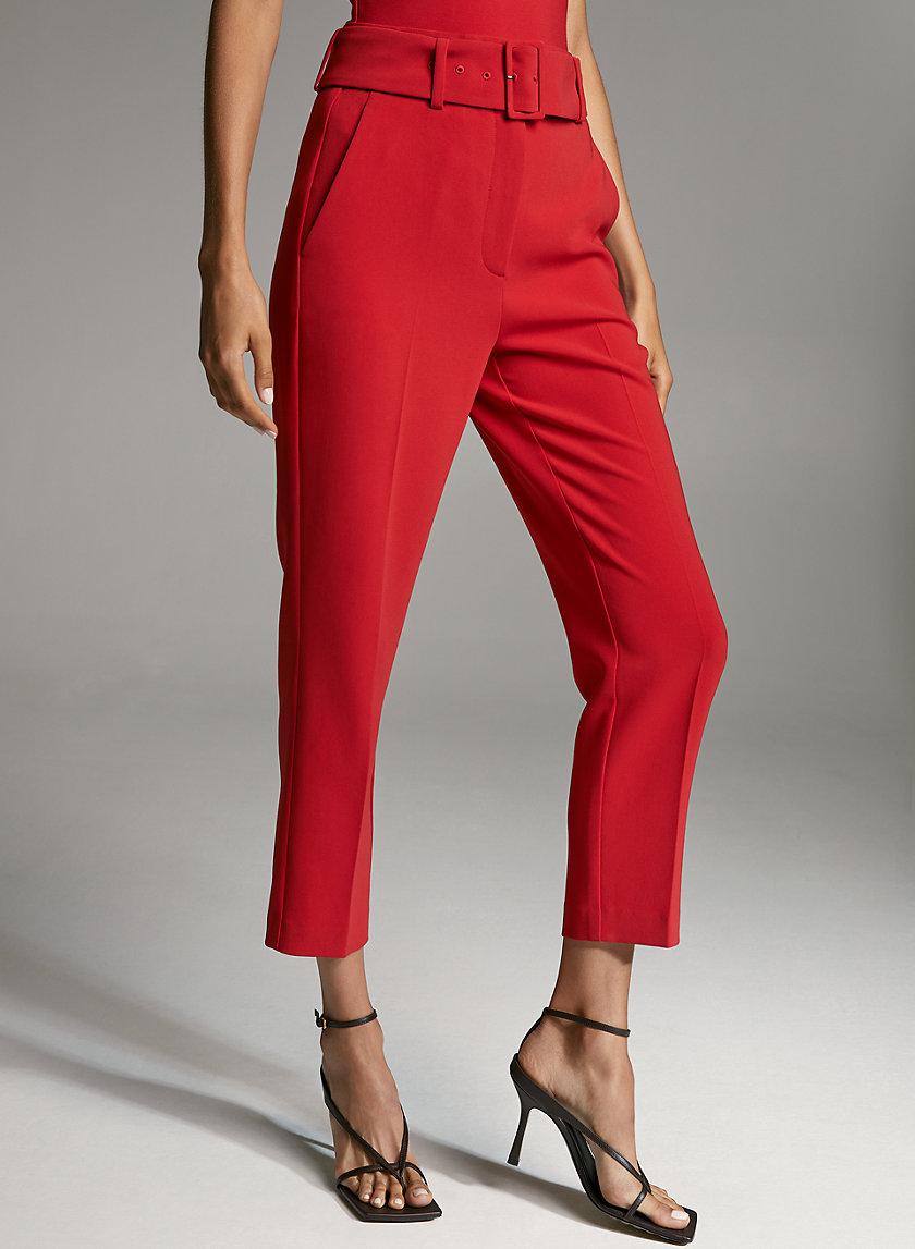 MAYNE PANT - High-waisted dress pants