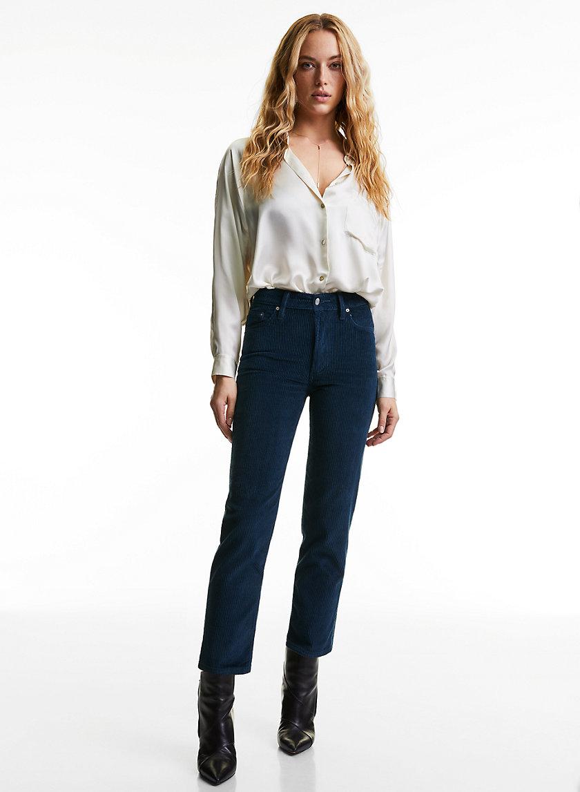 THE ARLO STRAIGHT - Straight leg corduroy pants