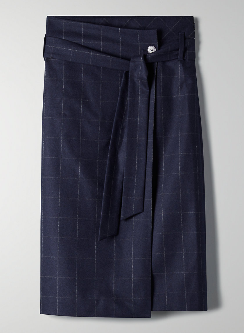 KARL WOOL CASHMERE SKIRT - Wool skirt