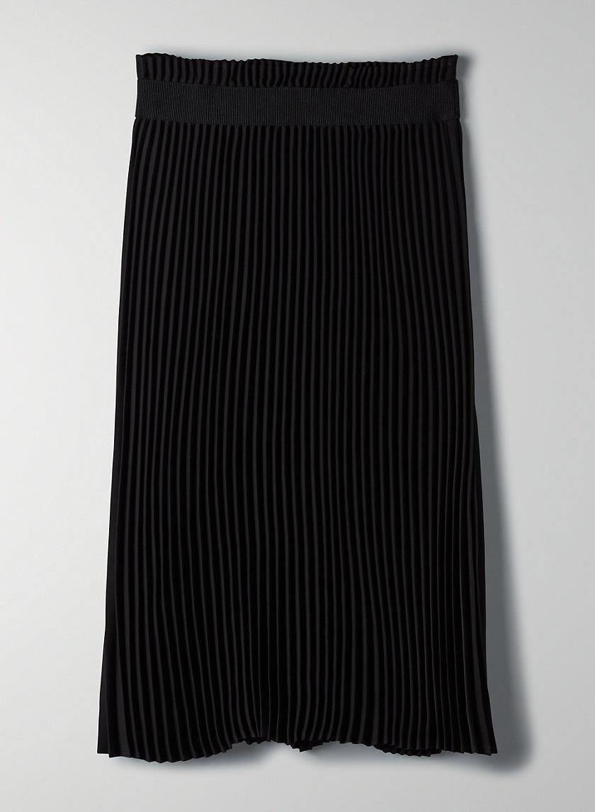 WESTIN SKIRT - Pleated midi skirt