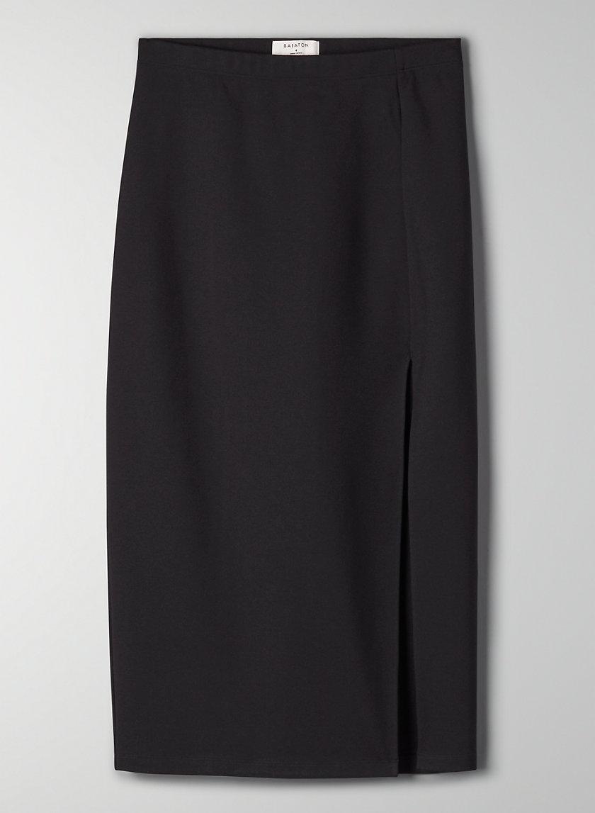 PENCIL SLIT SKIRT - Slit pencil skirt