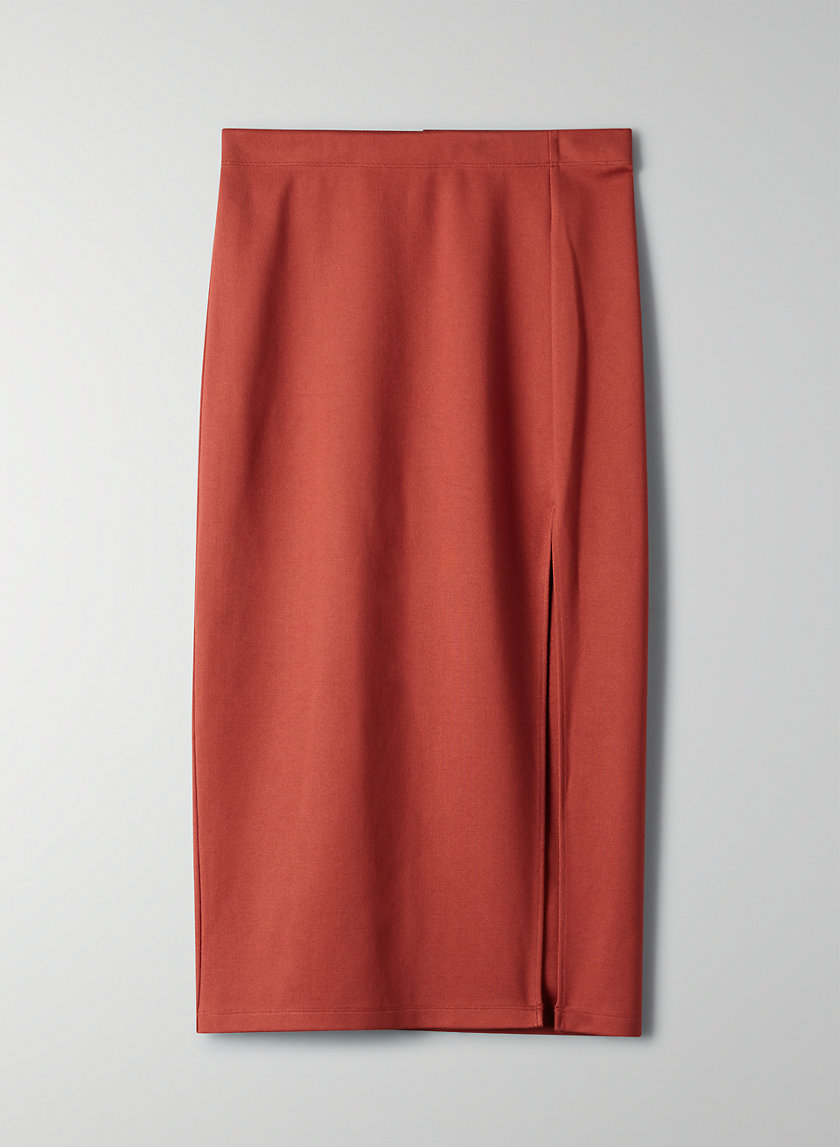 PENCIL SLIT SKIRT - Slit pencil skirt