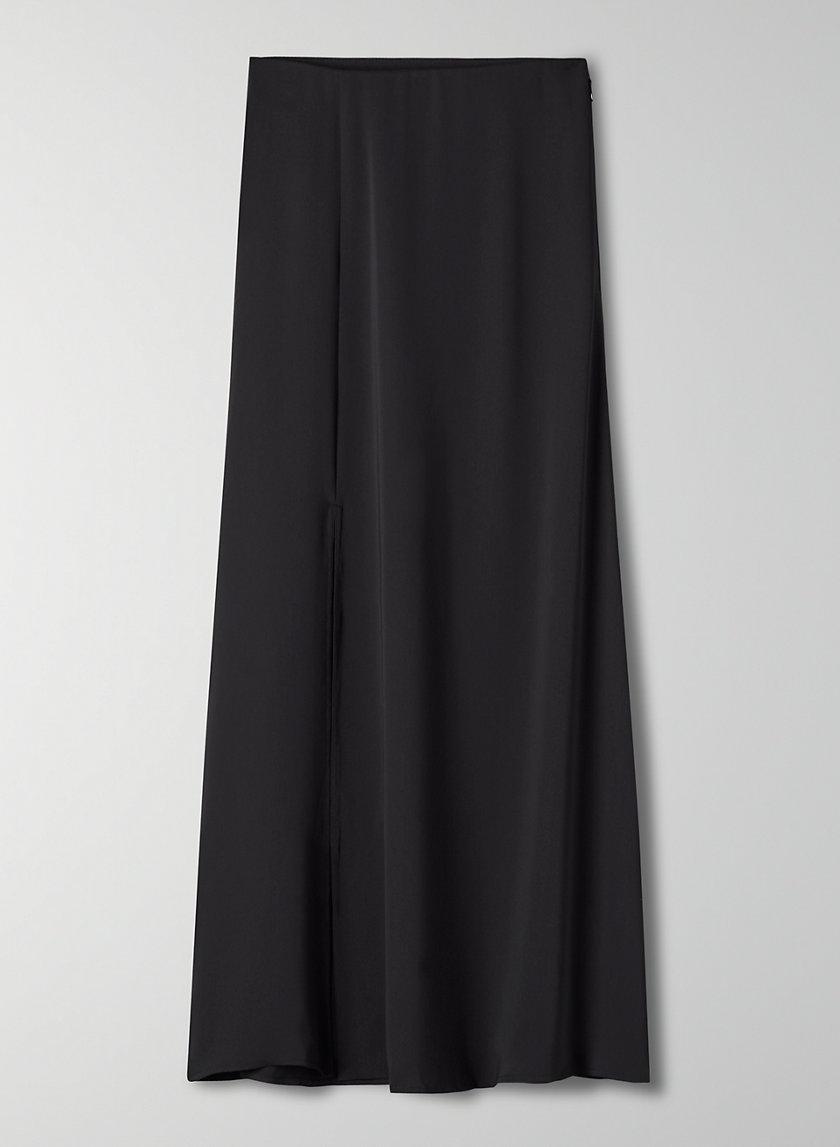 WILSON SKIRT - A-line slit skirt