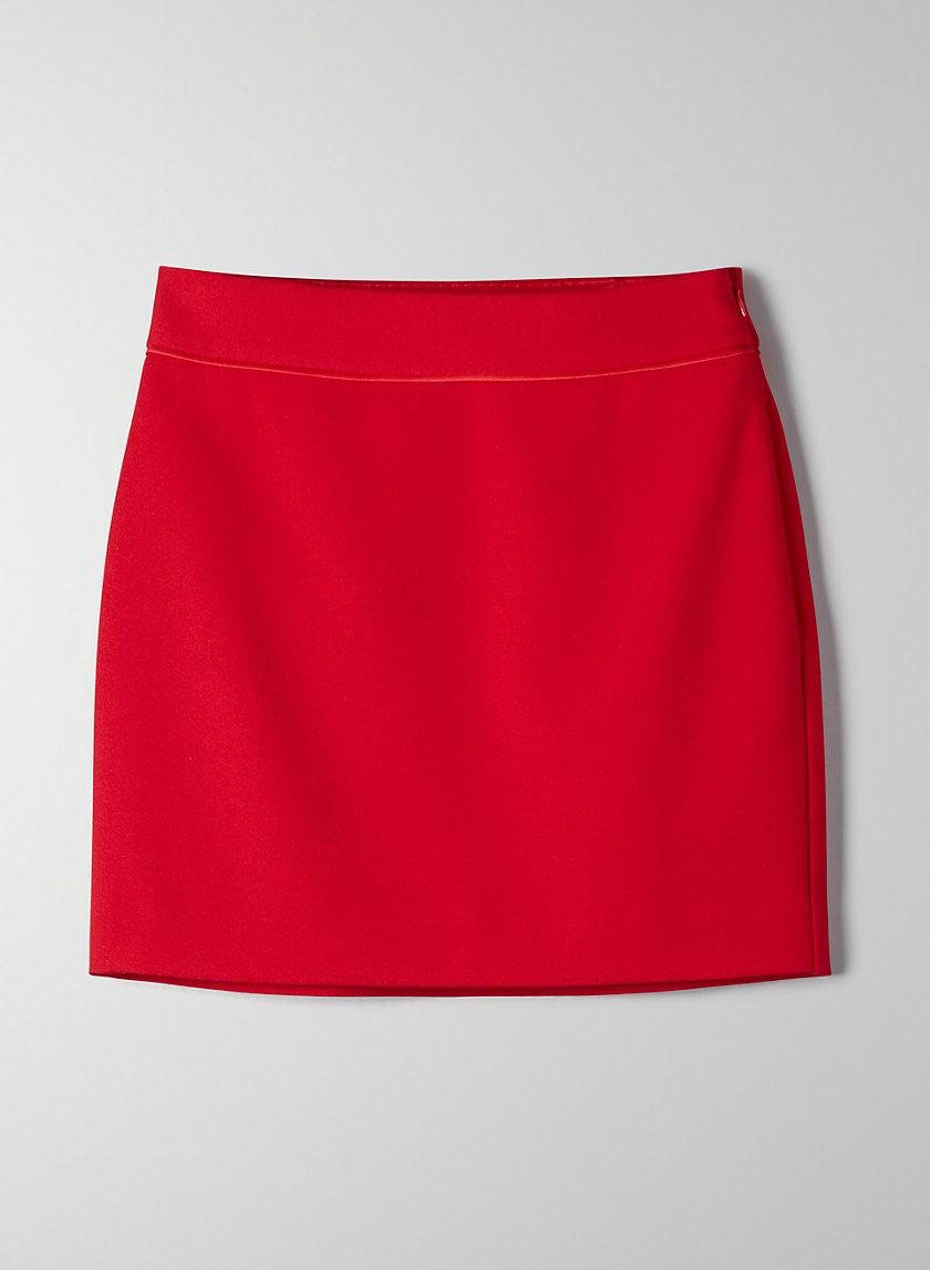 NORTON SKIRT - High-waisted mini skirt