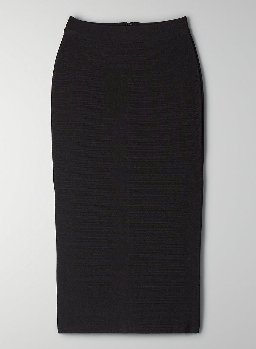DAMON SKIRT - High-waisted pencil skirt