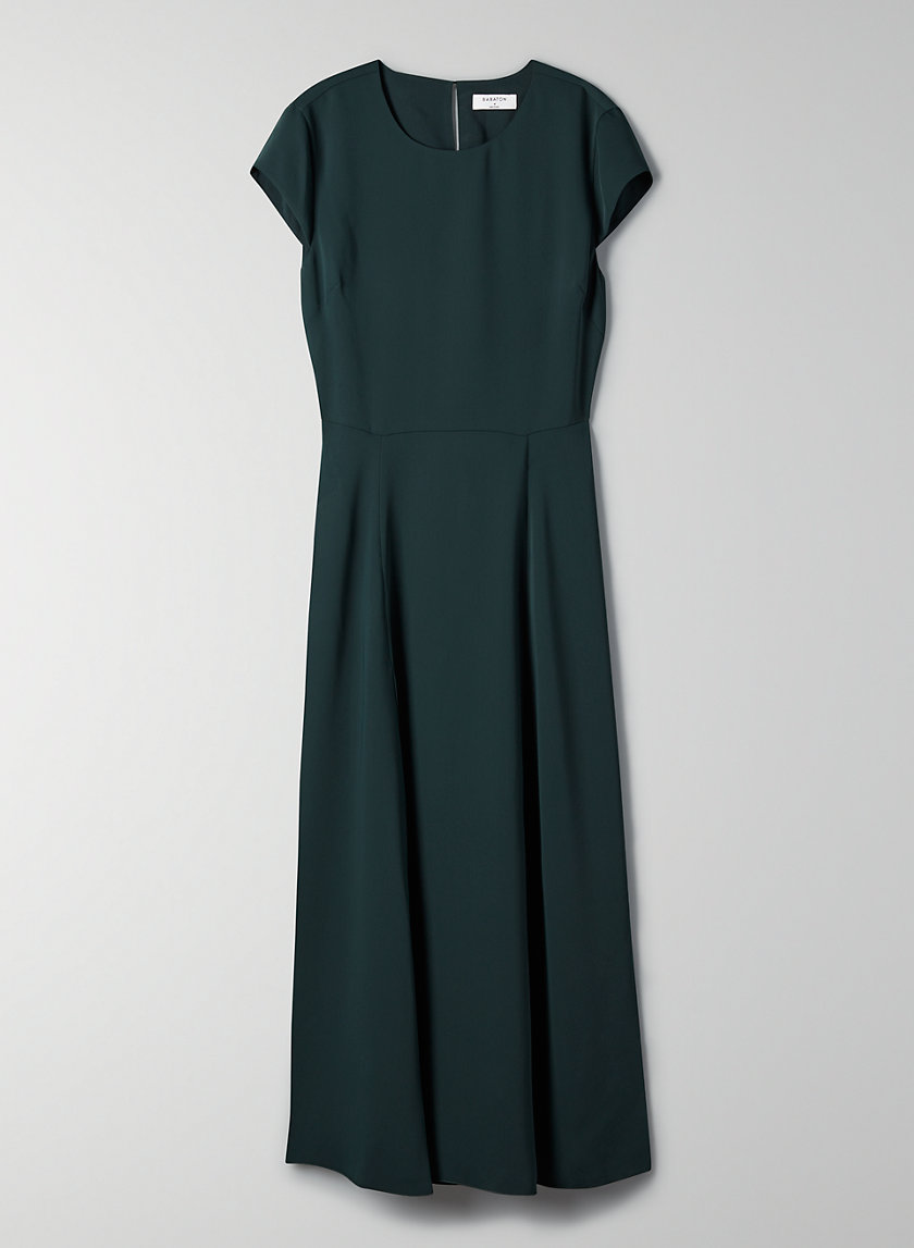HAMPTONS DRESS - Midi slit dress