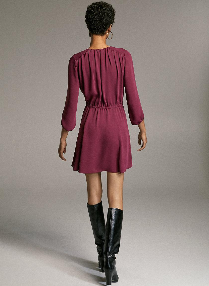 Babaton Day Dress Aritzia Ca