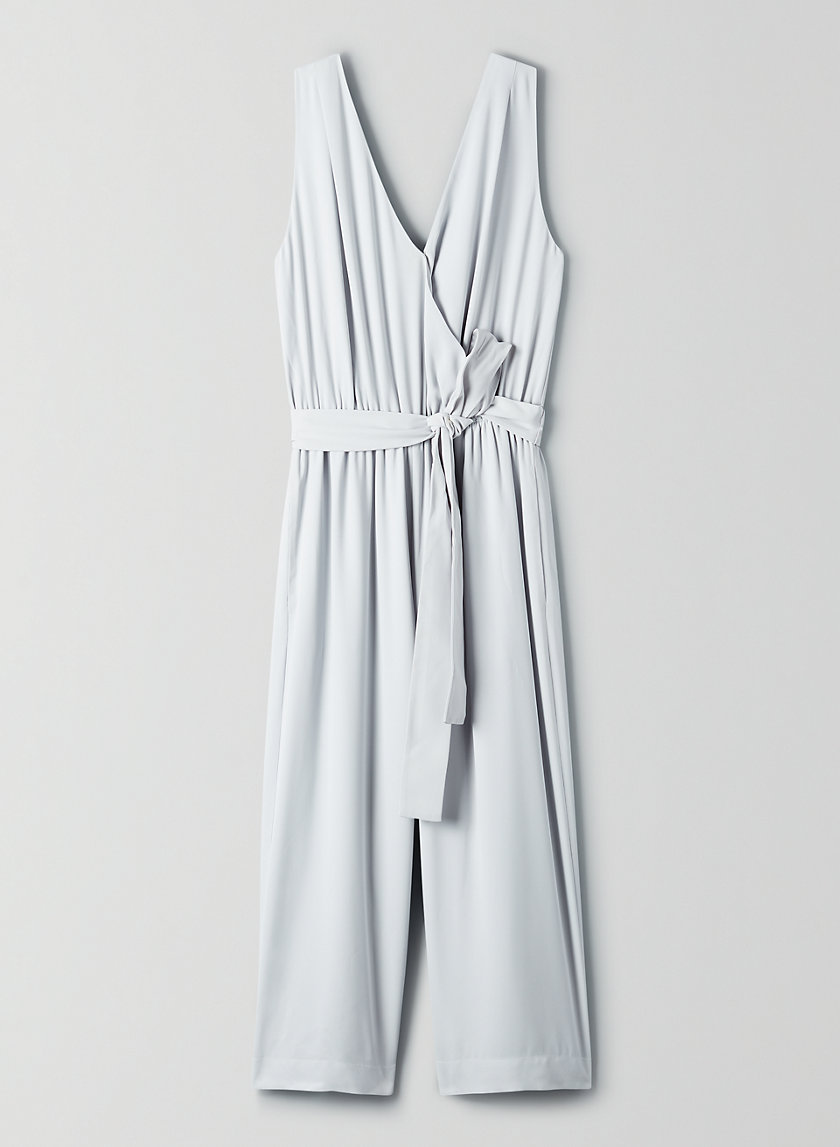 MAXIMILLIAN JUMPSUIT - Belted sleeveless jumpsuit