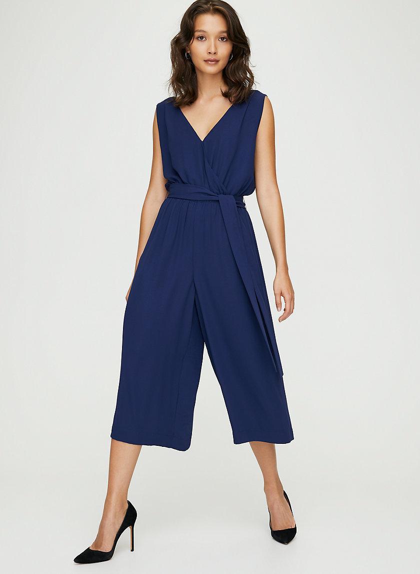 MAXIMILLIAN JUMPSUIT - Belted sleeveless jumpsuit