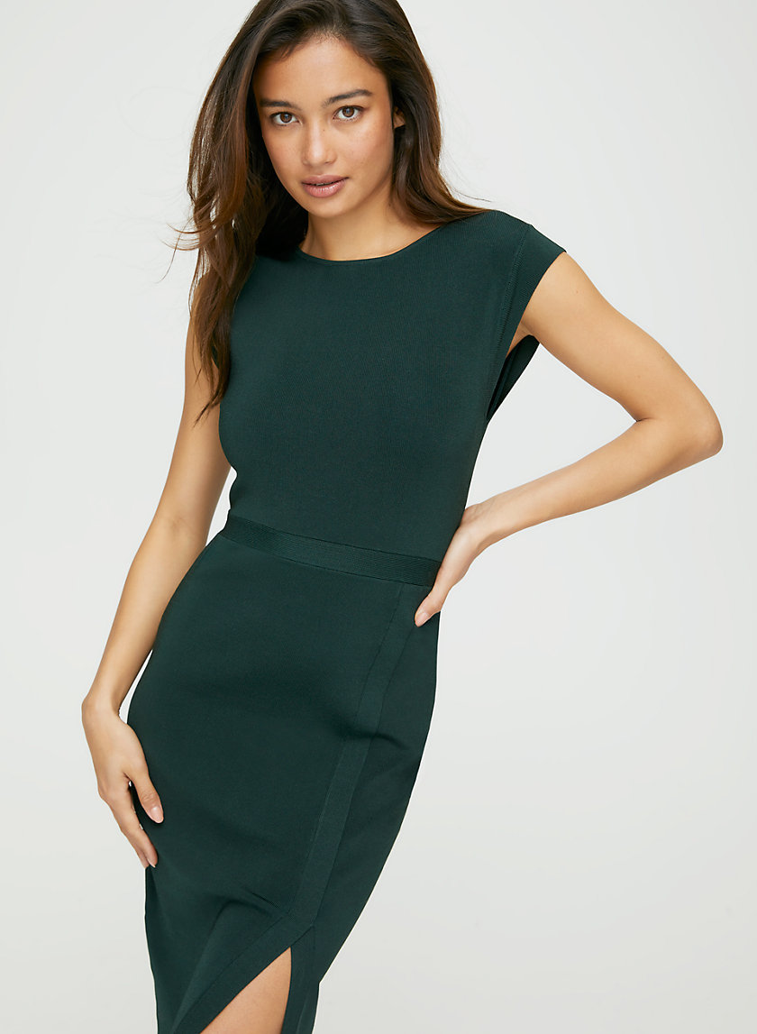 EMERSON DRESS - Cap-sleeve bodycon dress