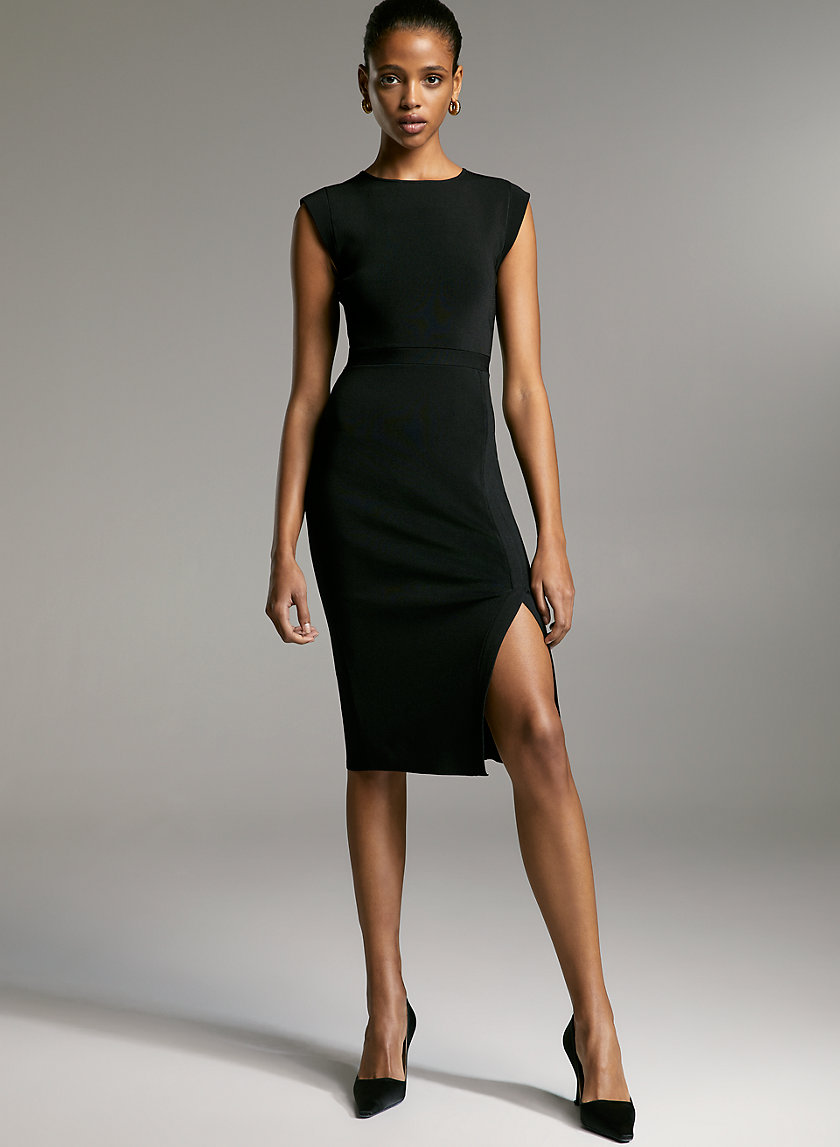 BUSINESS DRESS - Cap-sleeve bodycon dress