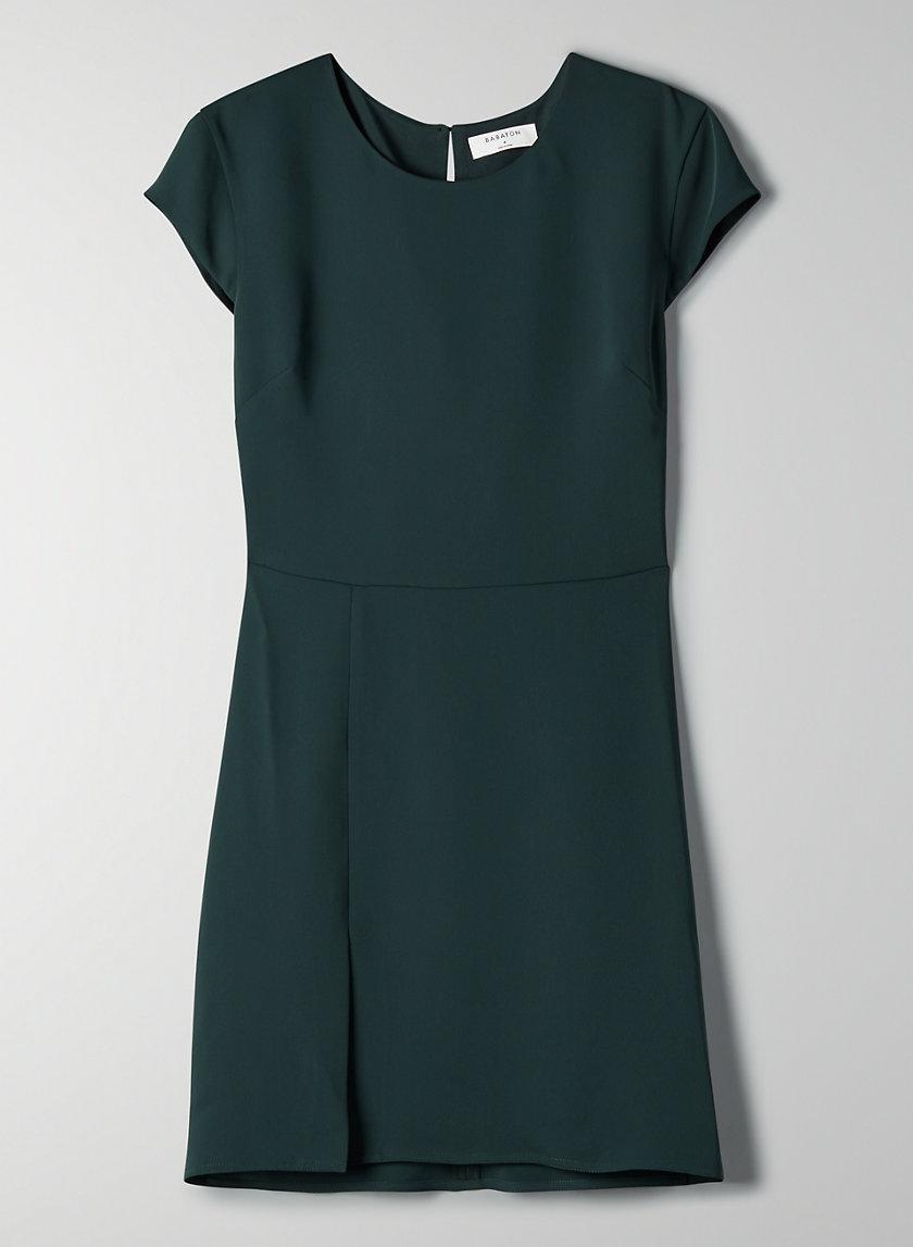HAMPTONS MINI DRESS - Thigh-slit mini dress