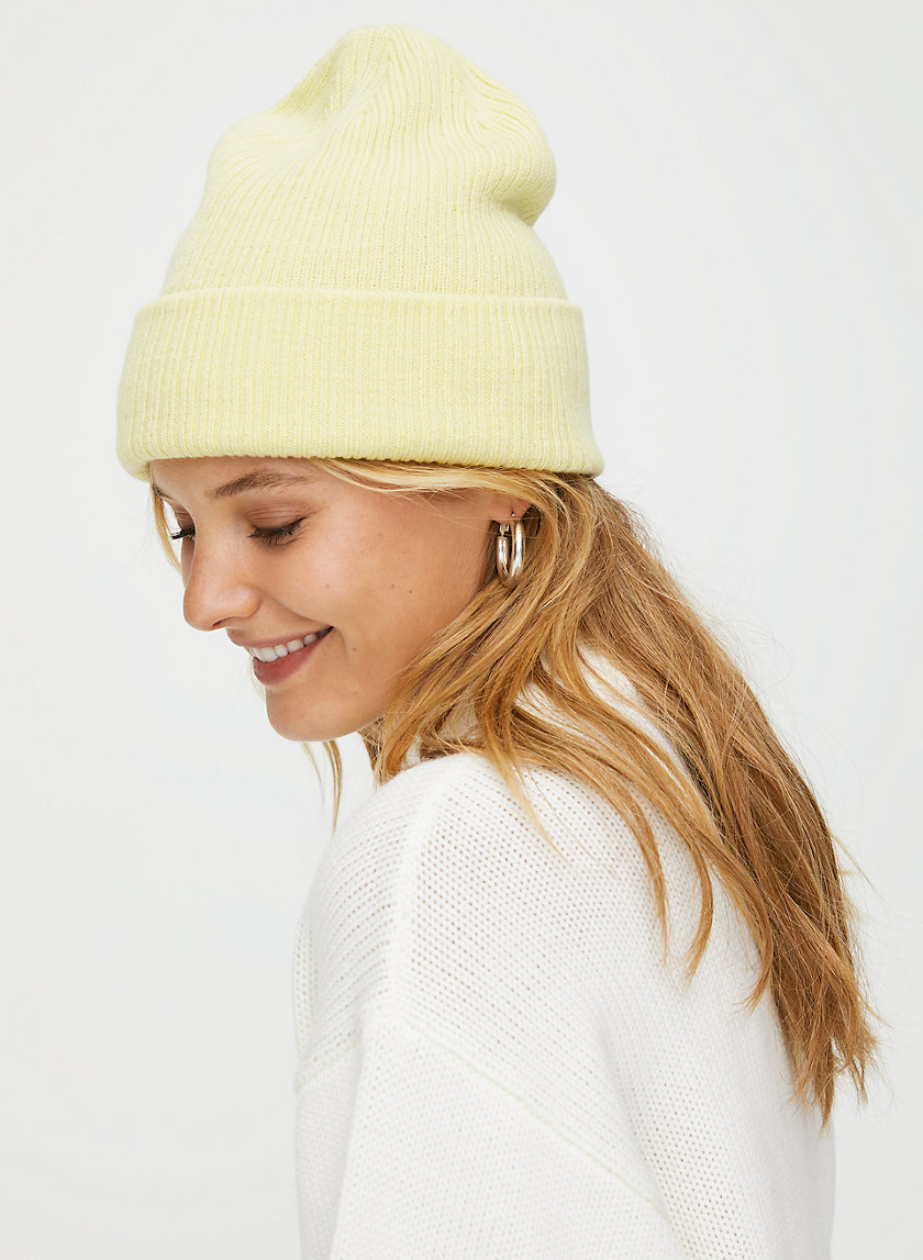 JUSTINE BEANIE - Ribbed knit beanie