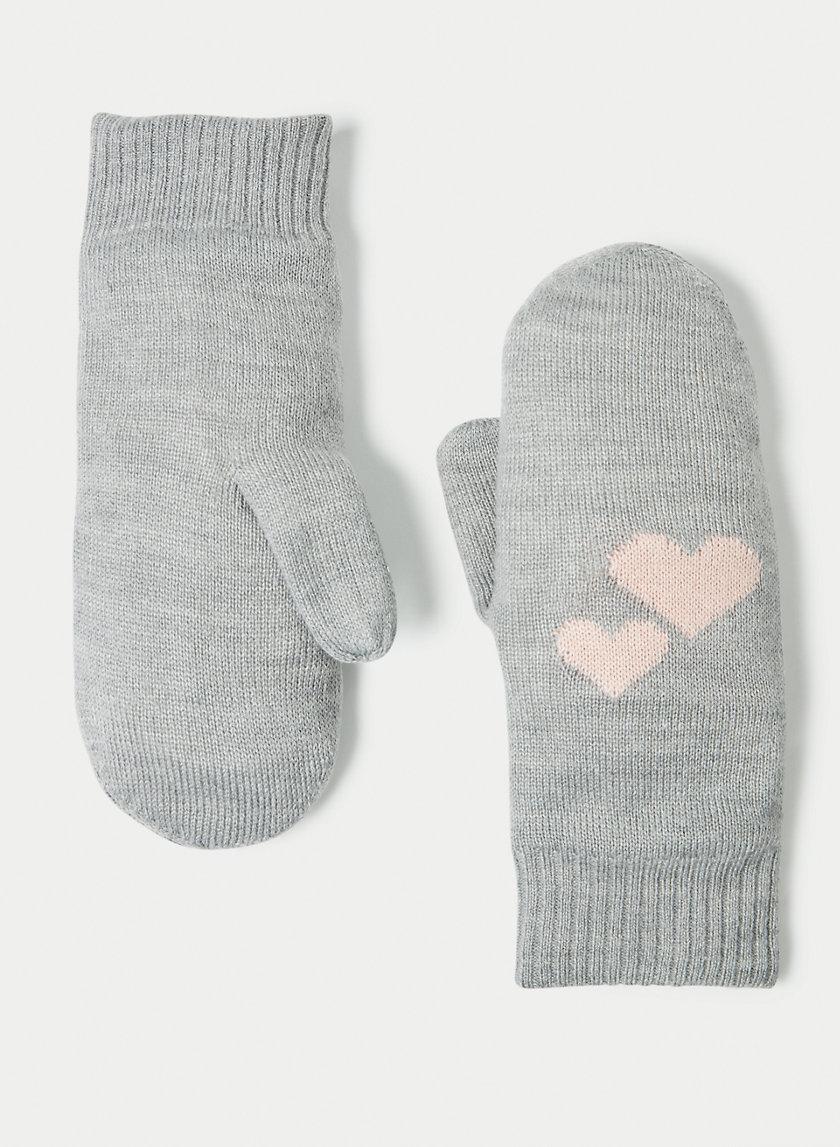 SYLVIANE MITTEN - Heart mittens