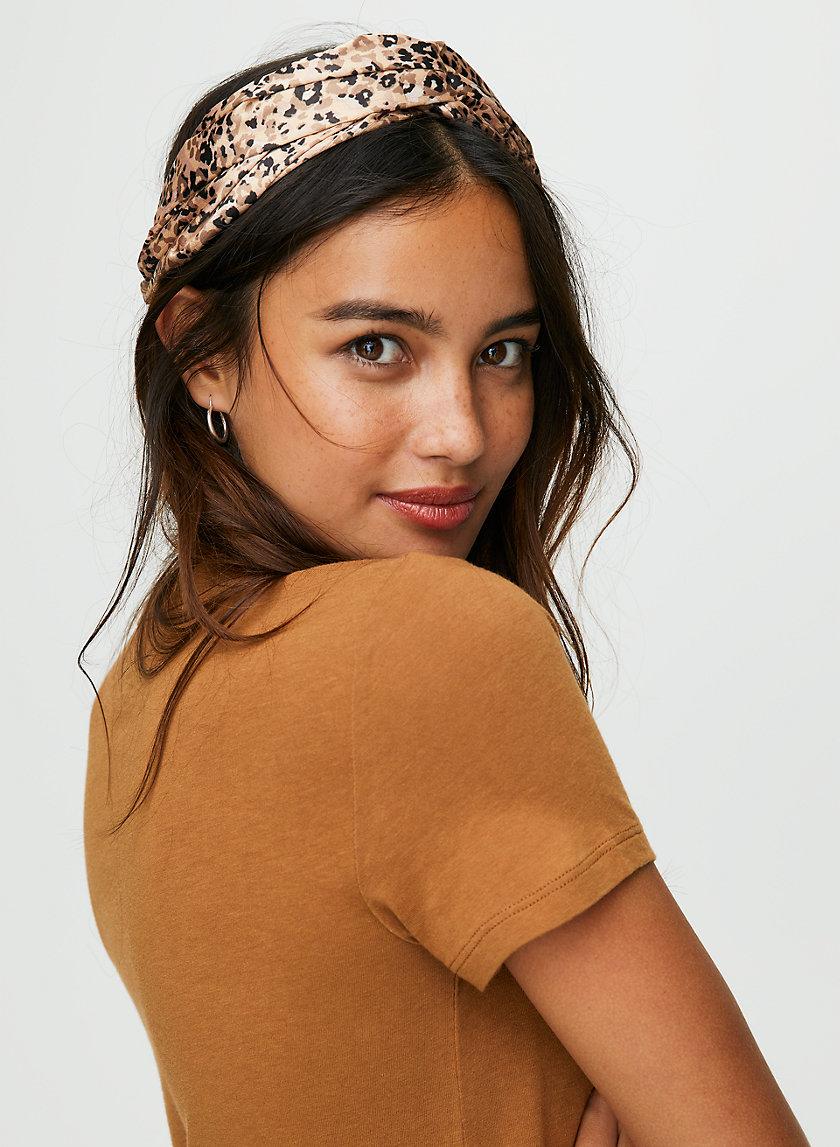 MATTIE HEADBAND - Leopard headband