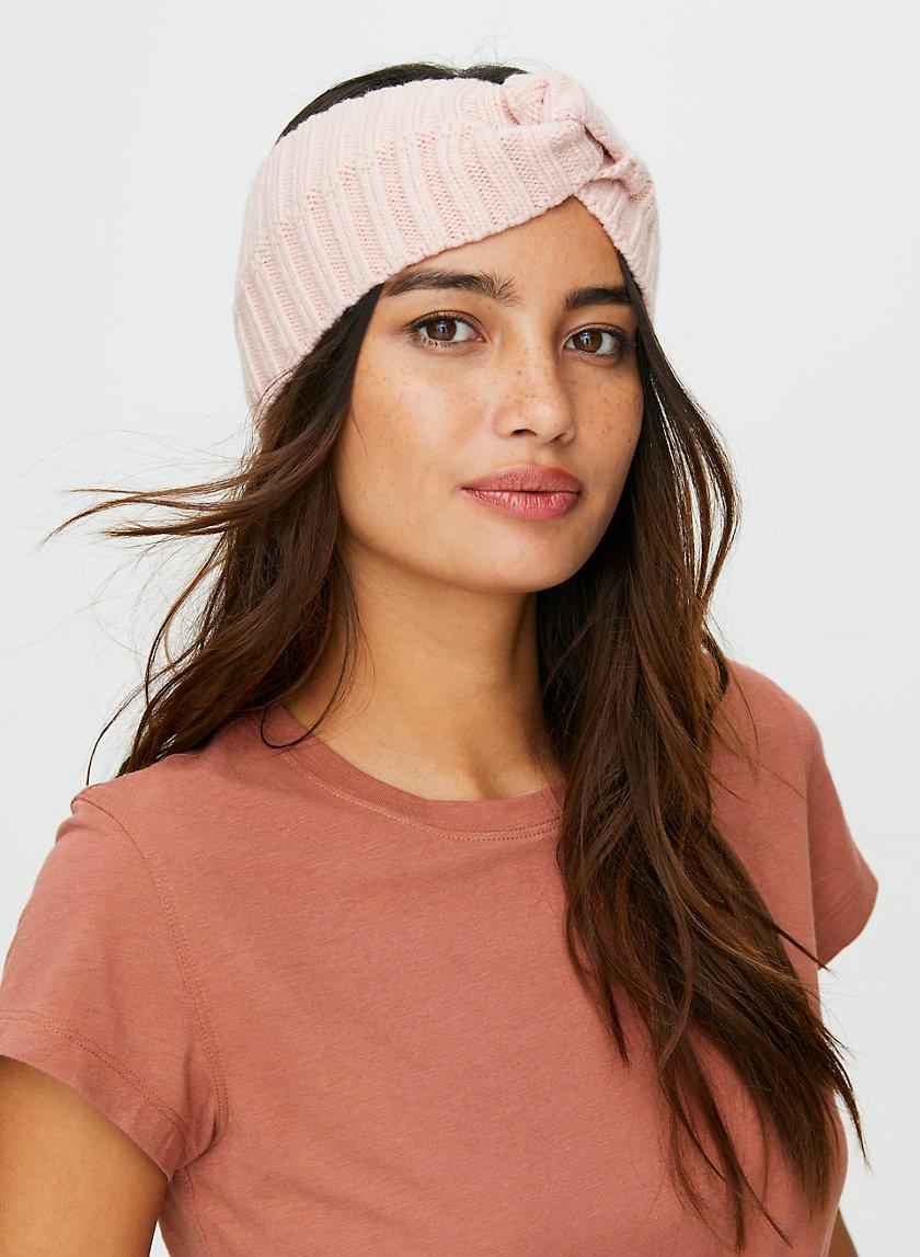 LOVEGOOD HEADBAND - Knotted knit headband