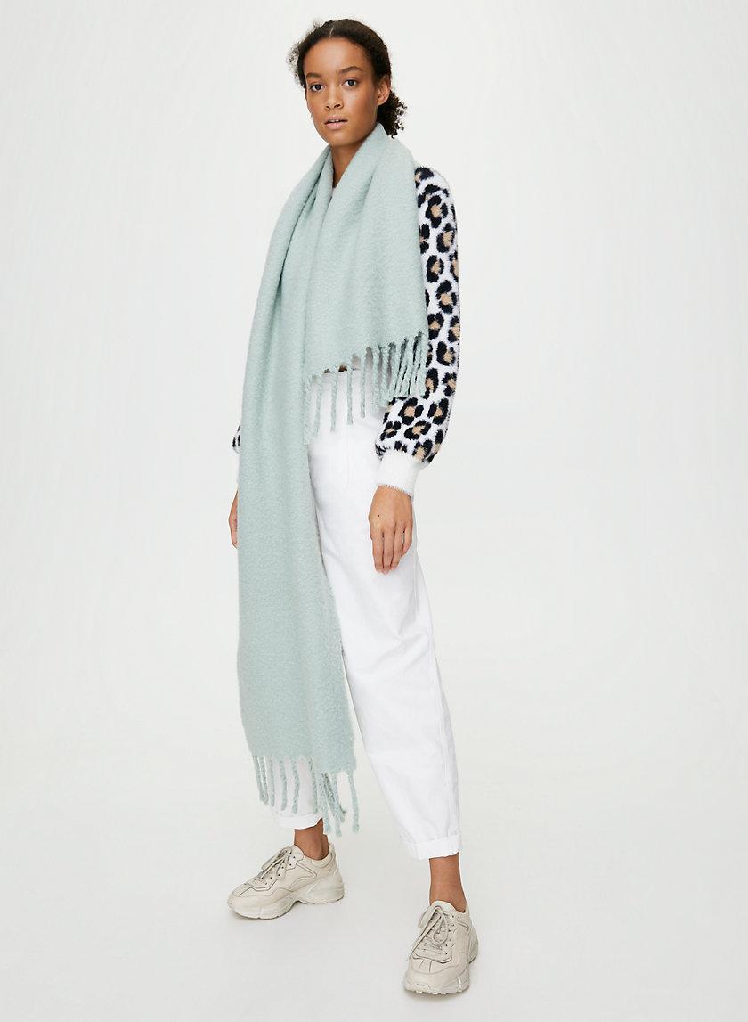 LAILA FRINGE SCARF - Long fringe scarf