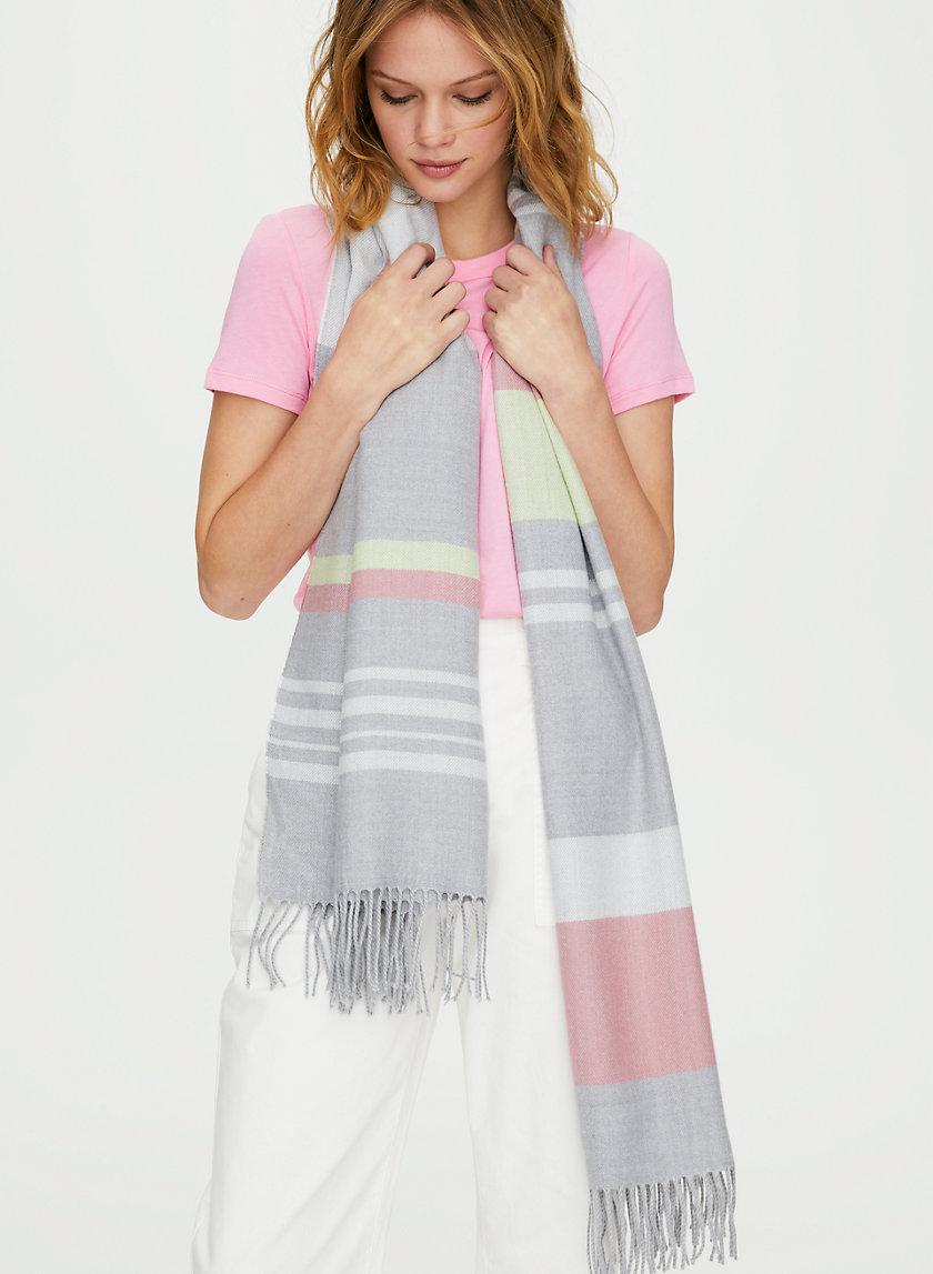 CLASSIC SCARF - Striped fringe scarf